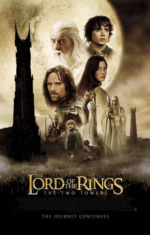 The Lord Of The Rings: The Two Towers Large Poster