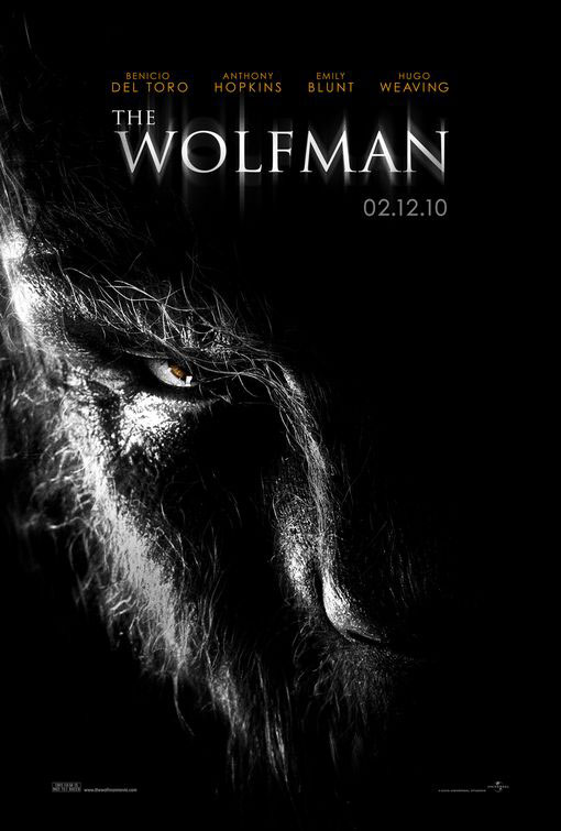 The Wolfman Large Poster