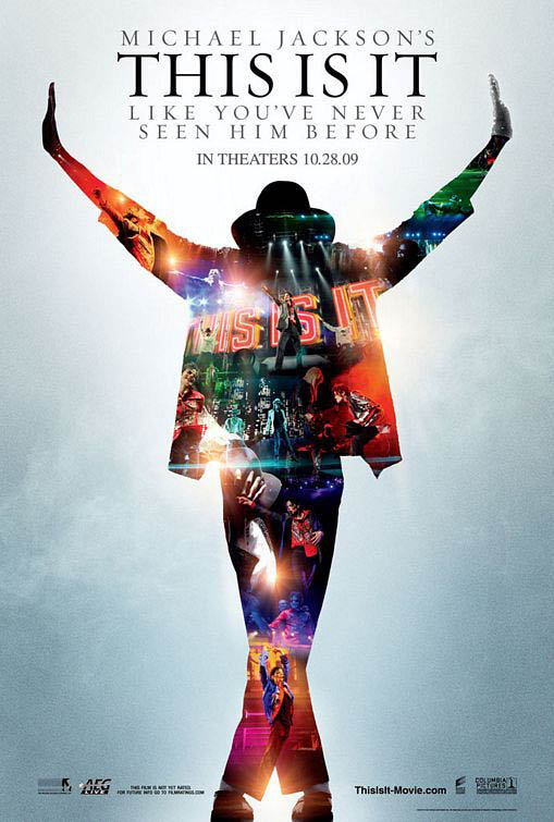 Michael Jackson's This Is It Large Poster