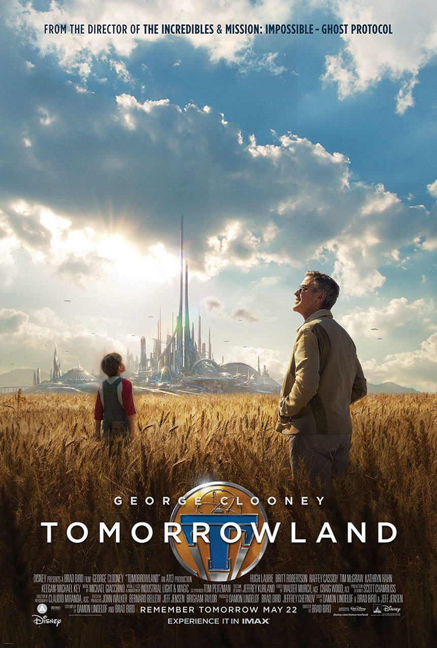 Tomorrowland Large Poster
