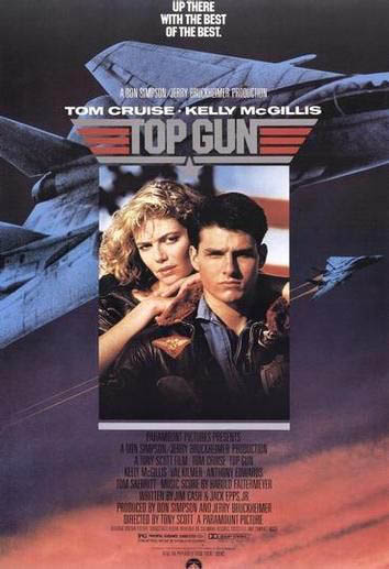 Top Gun Large Poster