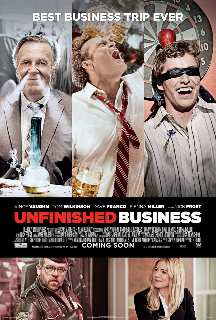Unfinished Business Large Poster