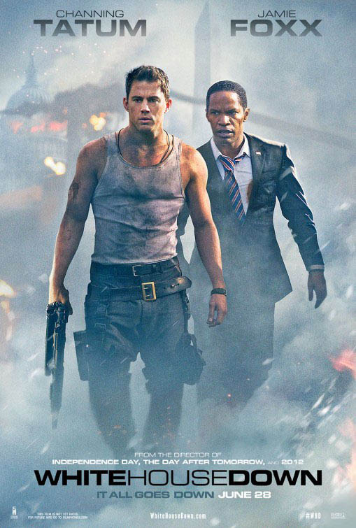 White House Down Large Poster
