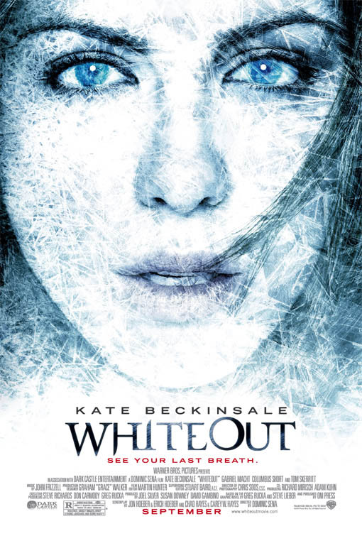 Whiteout Large Poster