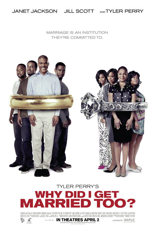 Tyler Perry's Why Did I Get Married Too? Large Poster