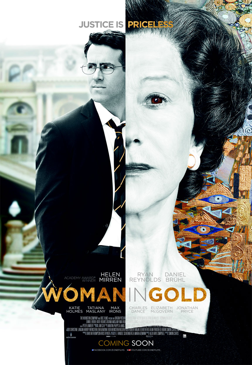 Woman in Gold Large Poster