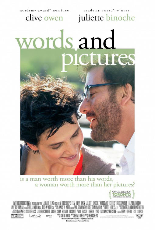 Words and Pictures Large Poster