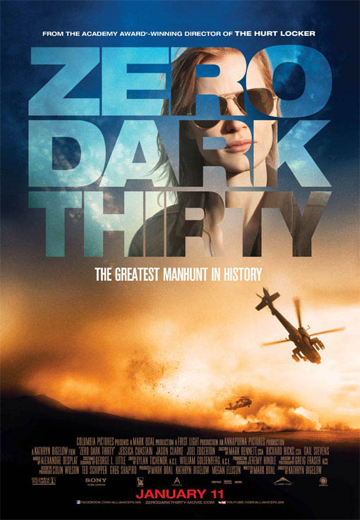 Zero Dark Thirty Large Poster