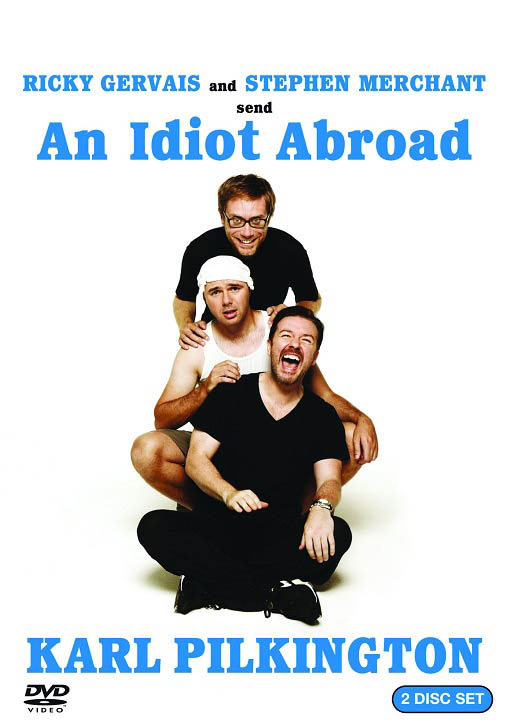 An Idiot Abroad Large Poster