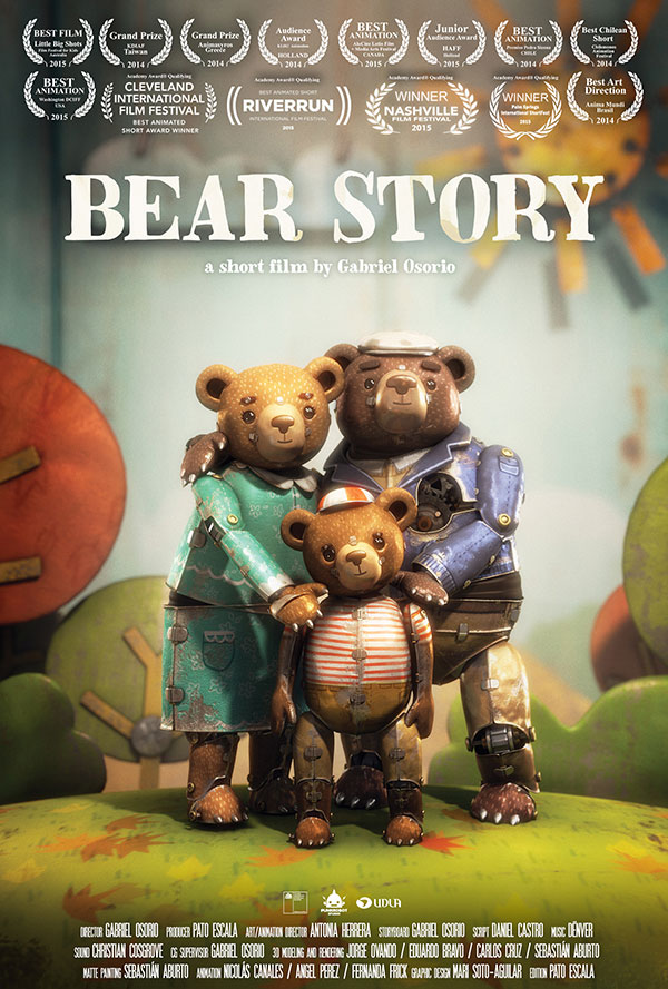 Bear Story (Short) Large Poster