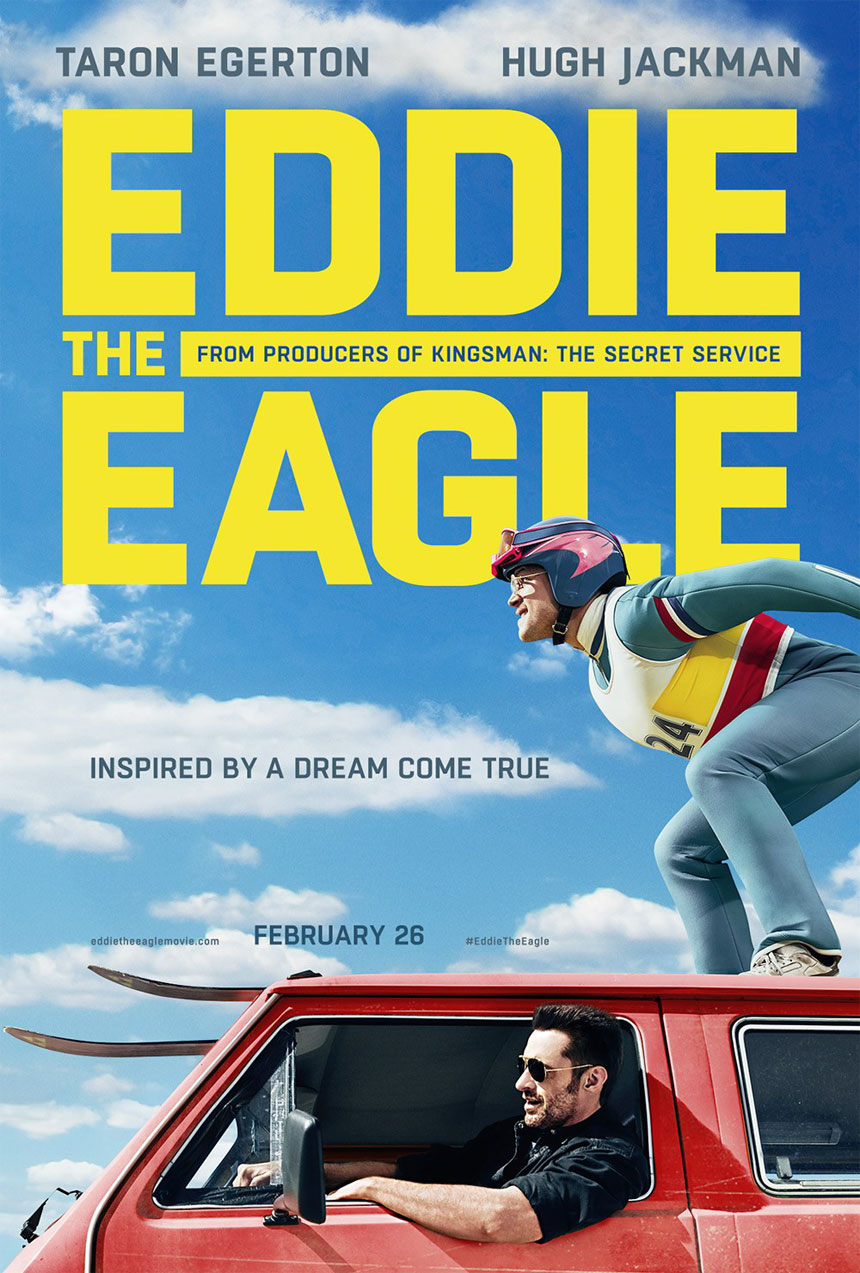 Eddie the Eagle Large Poster