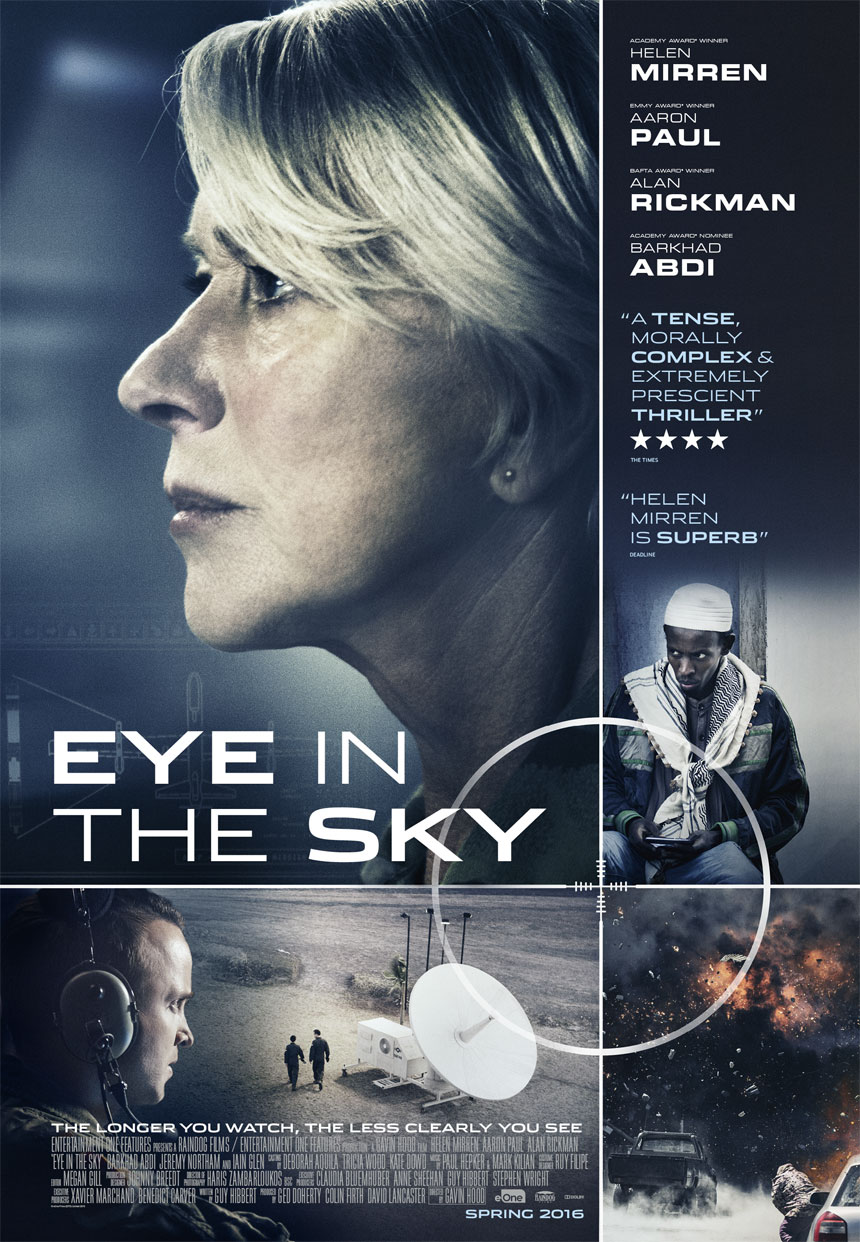 Image result for eye in the sky movie poster