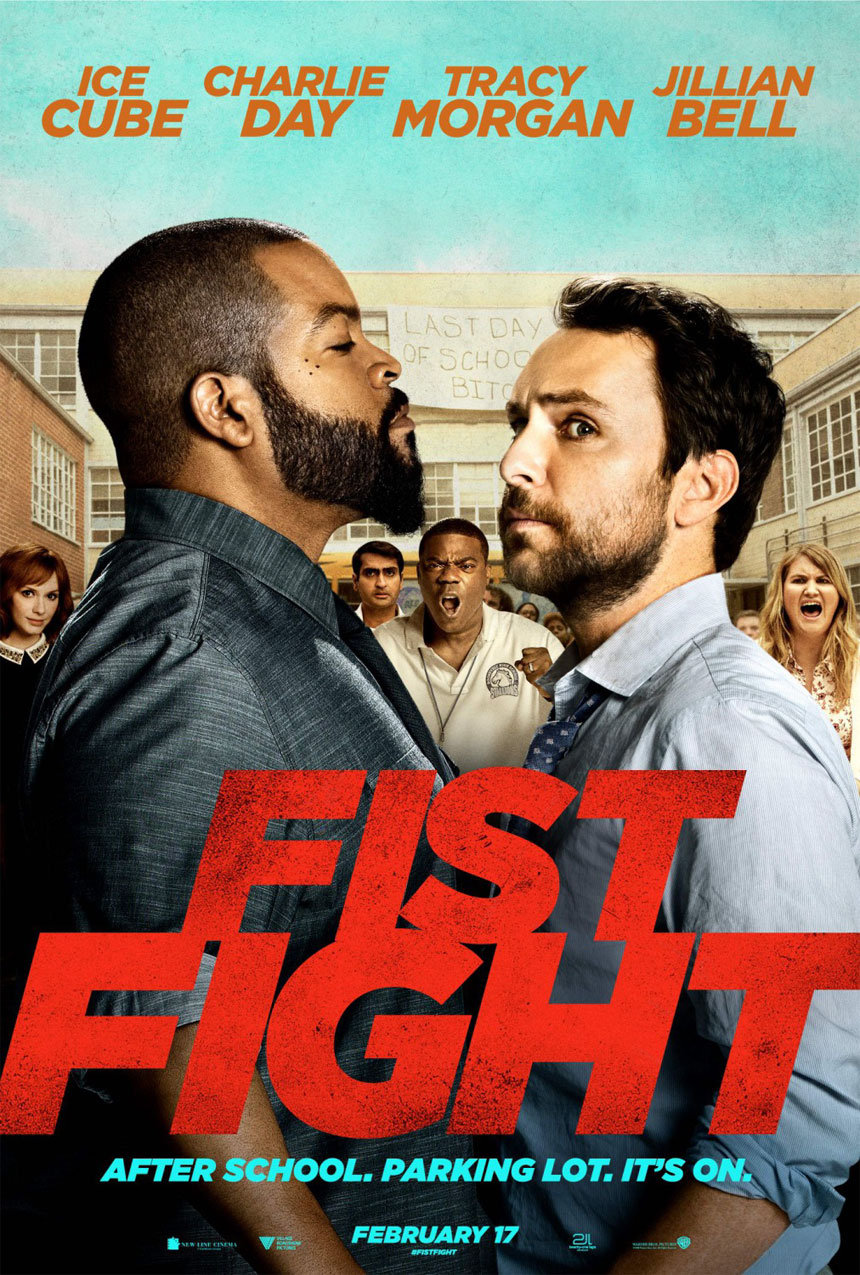 Fist Fight Large Poster