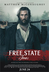 Free State of Jones Movie Poster Movie Poster