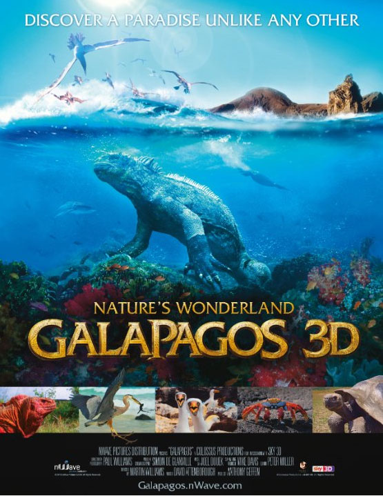 Galapagos 3D: Nature's Wonderland Large Poster
