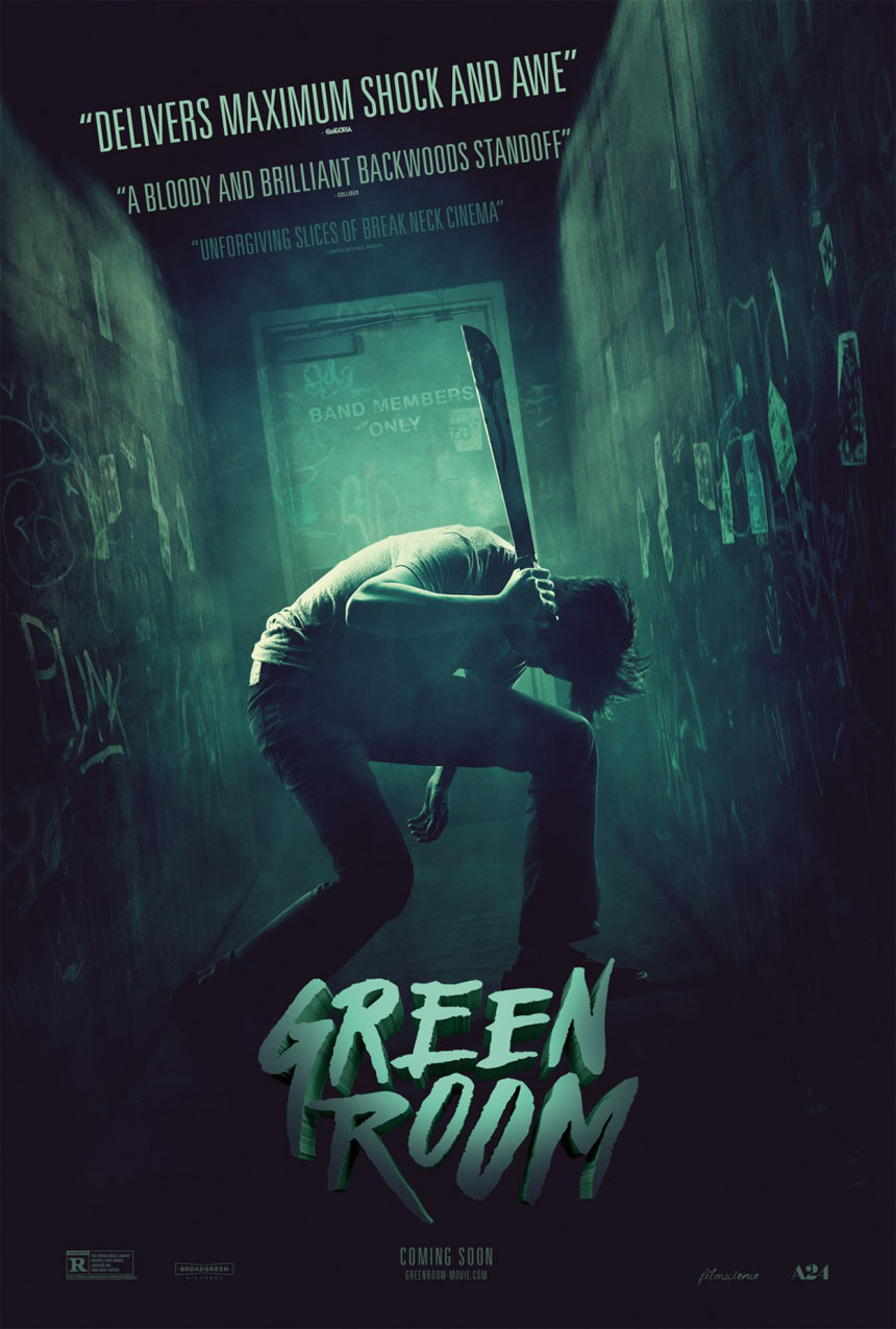 Green Room Large Poster