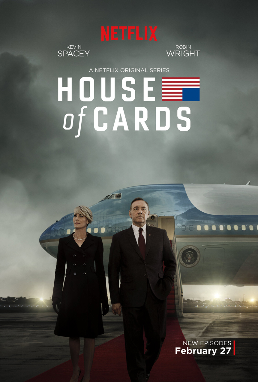 House of Cards: Season 3 (Netflix) Large Poster
