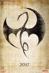 Marvel's Iron Fist (Netflix) Movie Poster