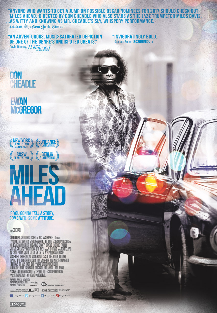 Miles Ahead Large Poster