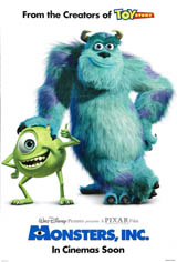 Monsters, Inc. Movie Poster