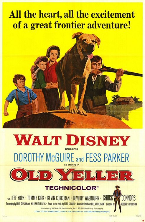 Old Yeller Large Poster