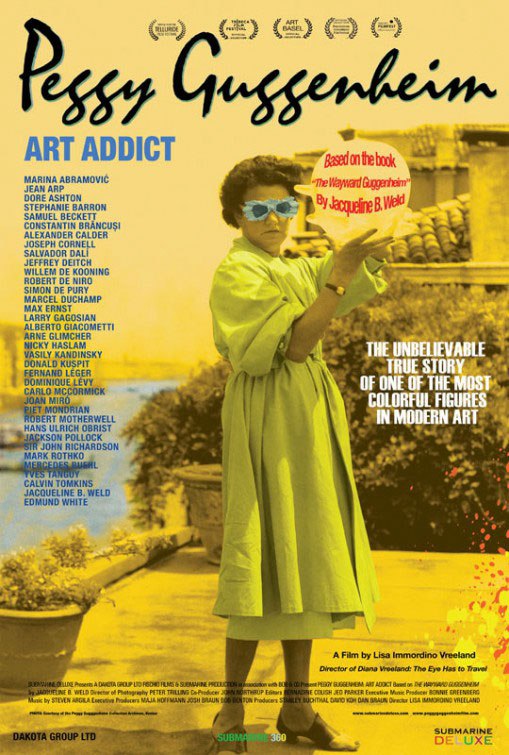 Peggy Guggenheim: Art Addict Large Poster