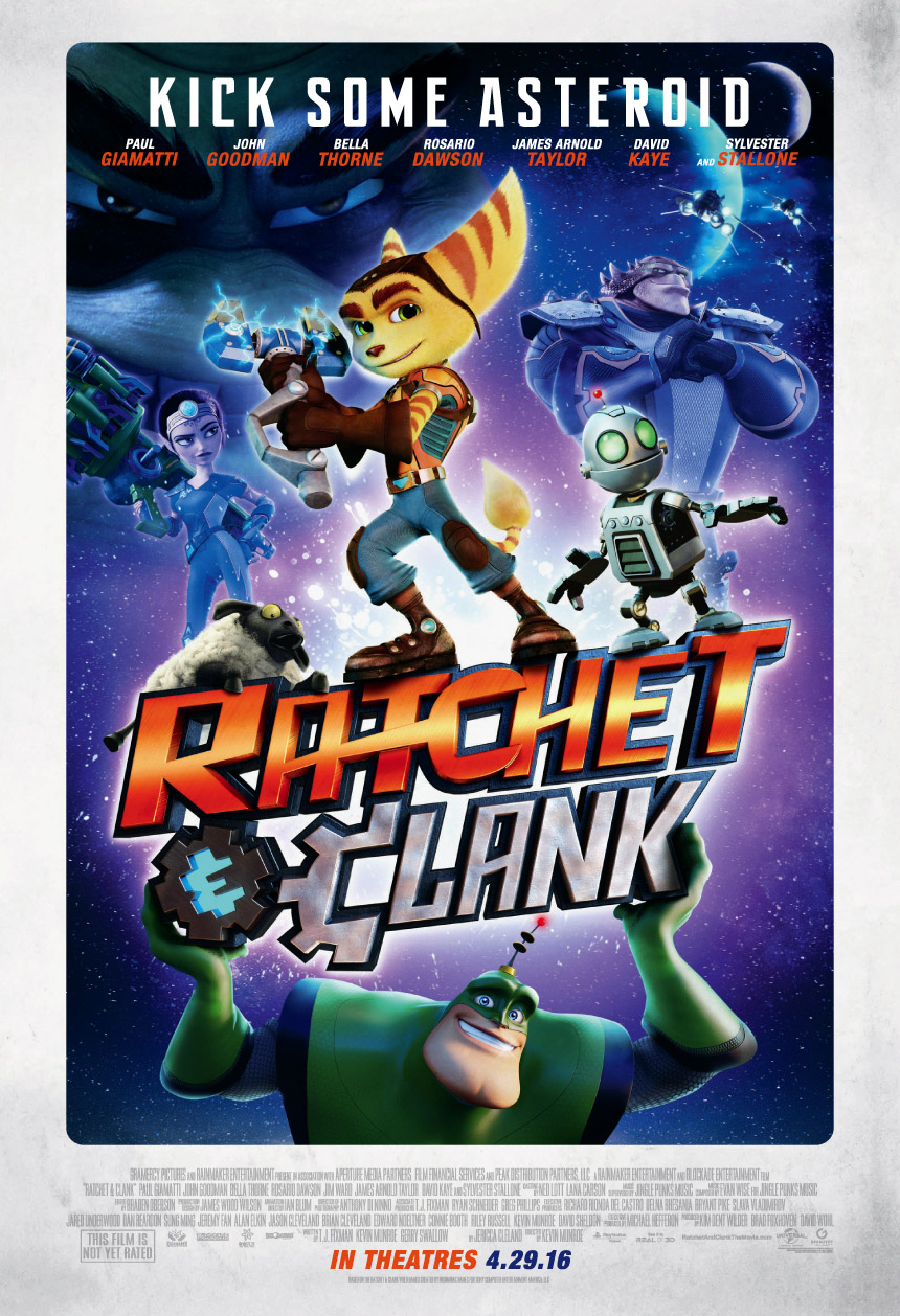 Ratchet & Clank Large Poster