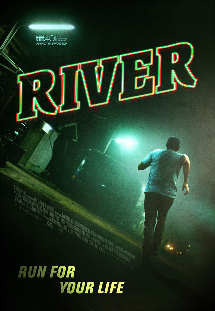 River Large Poster