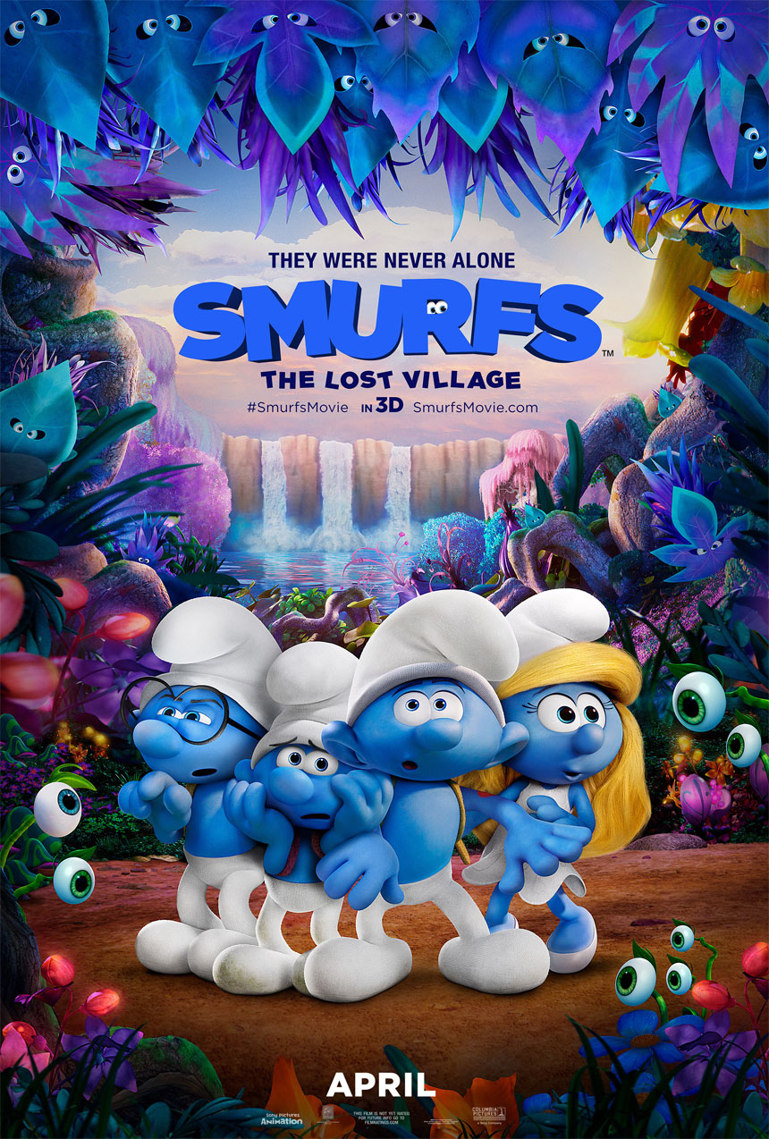 Smurfs: The Lost Village  Large Poster