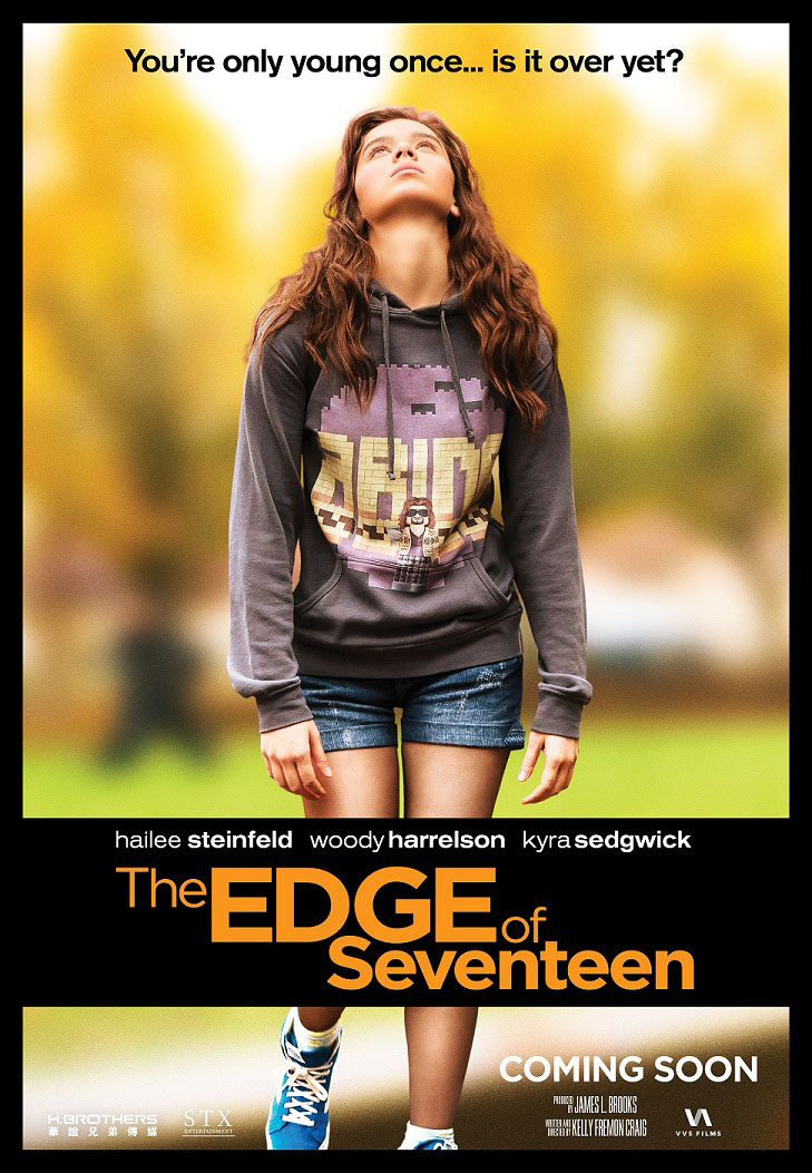 The Edge of Seventeen Large Poster