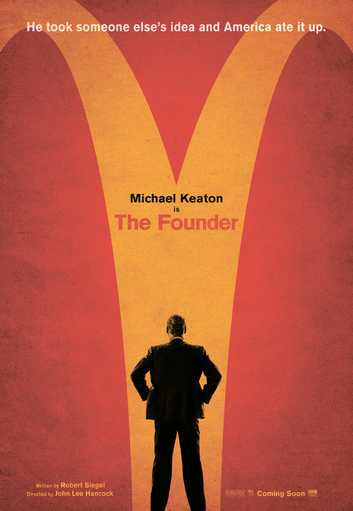 The Founder Large Poster