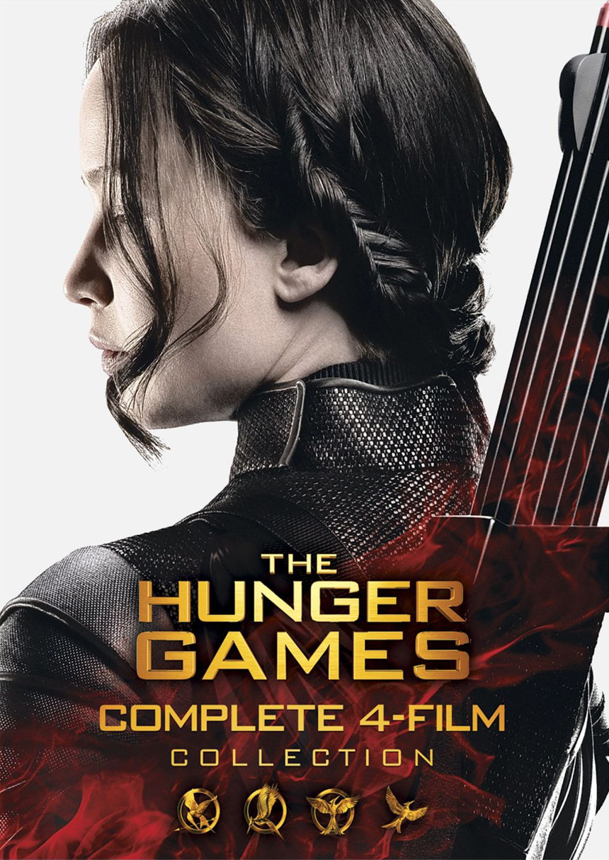 The Hunger Games: Complete 4-Film Collection Large Poster