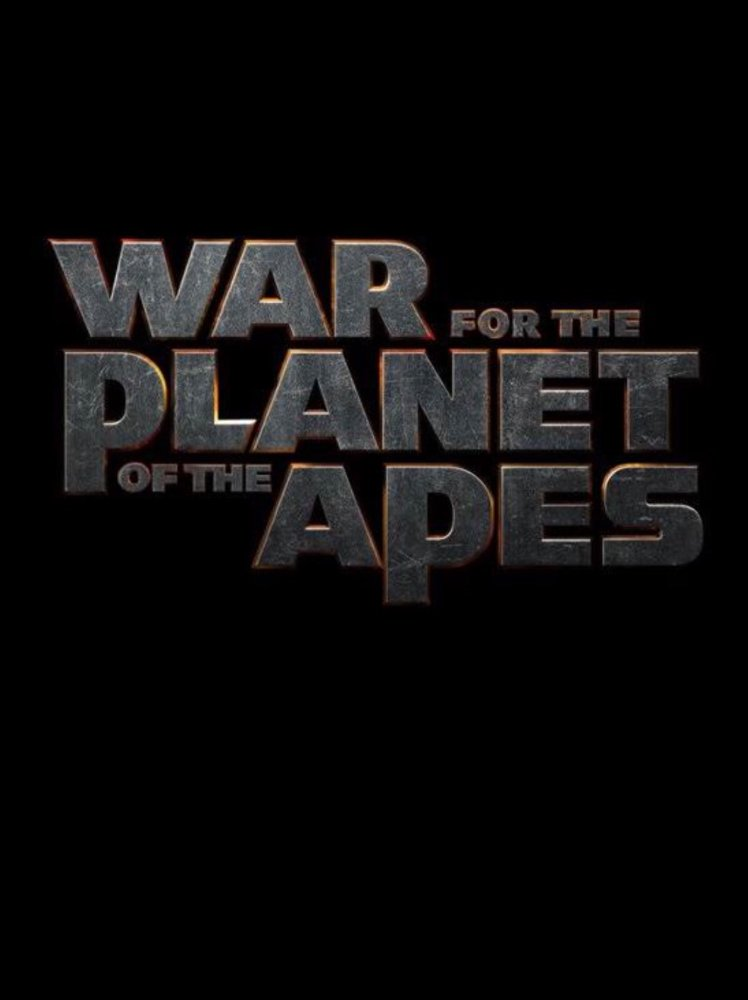 War for the Planet of the Apes Large Poster