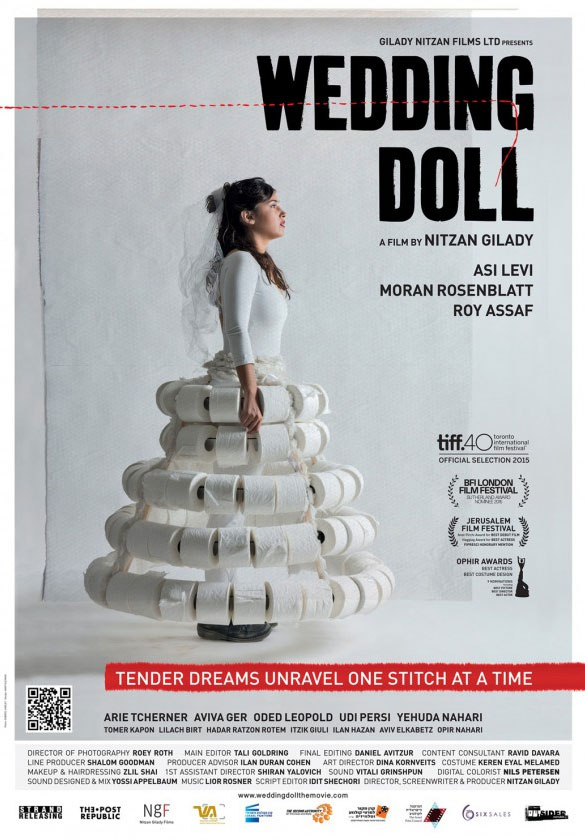 Wedding Doll Large Poster