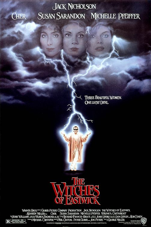The Witches of Eastwick Large Poster